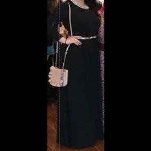 Long sleeve maxi dress